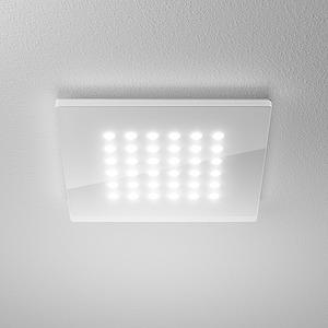 DOMFLQ 206.30.03, Domino Flat Square QS Einbau-Downlight 11W 830 830LM Quadrat weiß