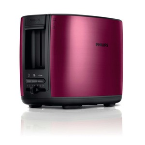 2-Schlitz Toaster, Auftau- und Aufwärmfunktion, inkl. Brötchenaufsatz