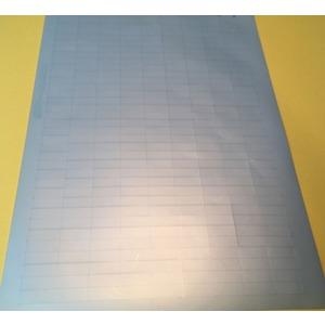 LEB-0820-P-8A, Laser-Etiketten A4 Bogen, silber Preis per VPE  VPE =1