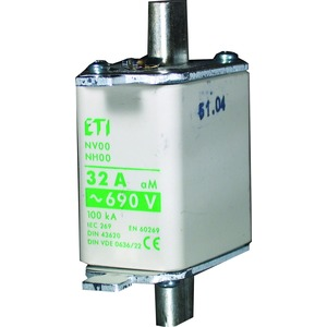 T.v.NV00 C/50A gG/690V-KOMBI, NV 00C GG 50A /