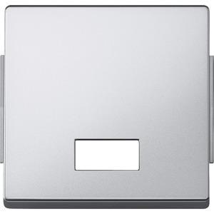 Wippe mit rechteckigem Symbolfenster, aluminium, AQUADESIGN