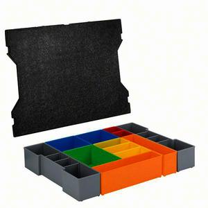 L-BOXX INSET BO, Boxen für Kleinteileaufbewahrung L-BOXX inset box Set 12 Stück