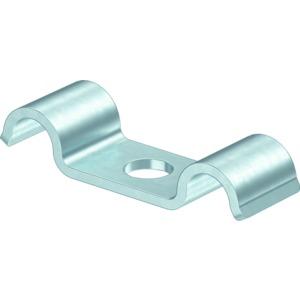 1015 D 5 G, Befestigungsschelle für 2 Kabel 5mm, St, G