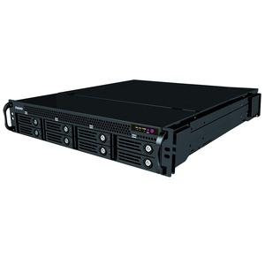 NUUO Titan NVR o.Kameralizenzen R.M.Version,o.Festplatte(max.8),Redundantes NT