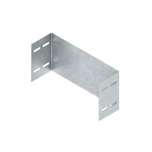 WSAS 150.400 E3, Abschlussstück für WSL/WRL, 150x400 mm, Edelstahl, Werkstoff-Nr.: 1.4301, 1.4303, inkl. Zubehör
