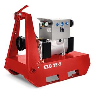 EZG 25/2 TN-S, Zapfwellengeneratoren - Generatordrehzahl 3000 U/min, 24,3 kVA - 400/230 V, IP 44