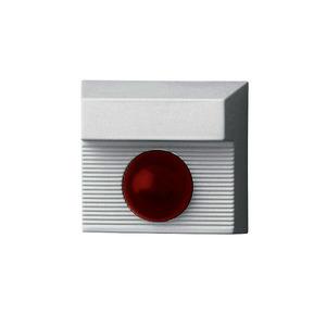 ANZ01, LED-Anzeige mit LED und Summer 12-24 V DC, Anzeigeleuchte rot