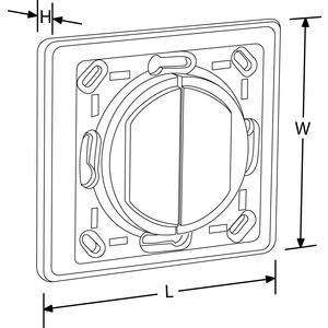 AU-A1ZBPLTL, AOne™ ZigBee Kinetic für Legrand Schalterprogramme