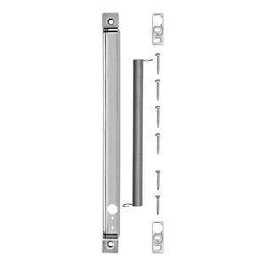 Flex. Leitungsschutz HT, Flexibler Leitungsschutz, für Holztüren, mit eckigem Stulp, Edelstahl