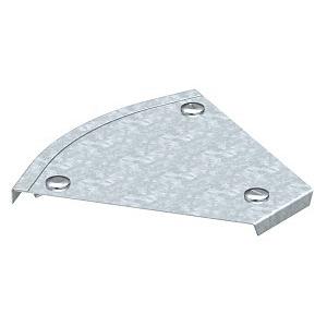 DFB 45 200 FS, Deckel Bogen 45° mit Drehriegeln, für RB 45 200 B200mm, St, FS