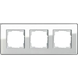 0213512, Abdeckrahmen 3f Gira Esprit G C Weiß