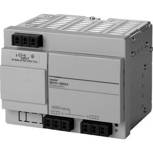 S8VS-48024, Schaltnetzteil, 480 W, 100 bis 240 VAC Eingang, 24 VDC 20 A Ausgang, DIN-Schienenmontage, Basismodell