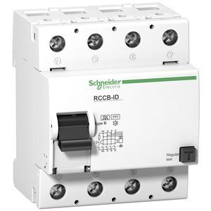 Fehlerstrom-Schutzschalter ID, 4P, 40A, Typ B, 500mA