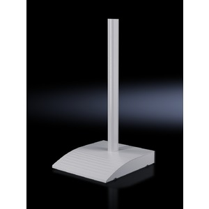 CP 6106.200, Standfuß-Bodenplatte modular, CP 60 groß, BHT 490x100x600 mm, Belastung 35kg