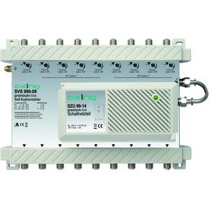 Breitband-Kopfverstärker, 15-27 dB, 5-2200 MHz, 9 Ein-/Ausgänge