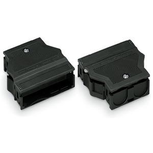 Zugentlastungsgehäuse 5-polig für 2 Leitungen 5,0 … 9,0 mm 55 mm schwarz