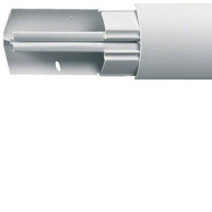 Eckkanal 40040, L= 2,5 m, cremeweiß, Preis per Stück
