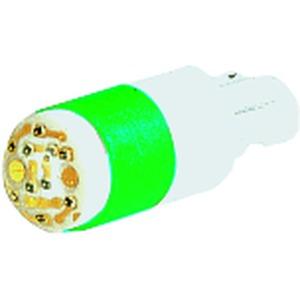 WBLED-GN12, Mehrfach-LED 12 V, W2x4,6d, 45 mA, grün