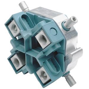 Kabelabzweig-Schraubklemmringe für Vierleiterkabel mit Abreißschraube