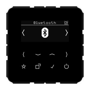 DAB CD BT SW, Smart Radio DAB+ Bluetooth, Digitalradio, Display, Sensortasten, UKW, DAB+, Bluetooth