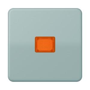CD 590 KOBF GR, Wippe, Lichtaustrittsfenster, bruchsicher, für Wipp-Kontrollschalter, Tast-Kontrollschalter und beleuchtbare Taster