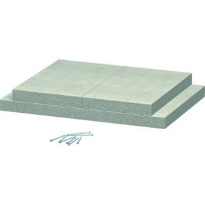 BSK-K0511, Wandanschlusskragen für BSK I90 50x110, grau