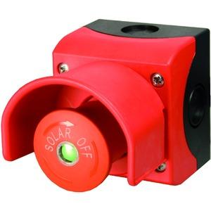 M22-SOL-PVT45PMPI02Q, Feuerwehrschalter, PV, 2 Öffner