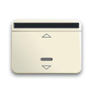 6066-22G-102, IR-Bedienelement, elfenbein/weiß, alpha, Bedienelemente für Dimmer