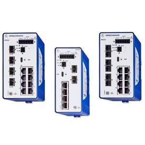 BRS20-1200ZZZZ-STCZ99HHSESXX.X.XX, 12 Port Fast Ethernet Rail Switch, managed