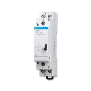 3402, Stromstoßschalter, Busch-Reiheneinbaugeräte, Elektronische Steuergeräte