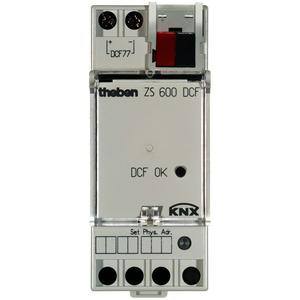 ZS 600 DCF KNX, Zeitsender quarz, funkgesteuert, Breite 35 mm