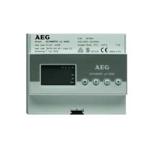 ELFAMATIC µC 3000, Zentralsteuergerät f. WSP ELFAMATIC µC 3000, 0,3kW, 230 V