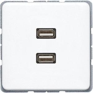 MA CD 1153 WW, 2 x USB, Tragring, Schraubbefestigung, bruchsicher