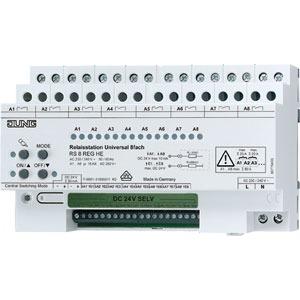 RS 8 REGHE, Relaisstation, 8fach, REG, Nennspannung: AC 230/240 V ~, 50/60 Hz, 8 Schließer