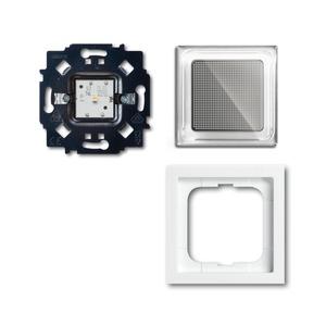 2069/11-84, Busch-iceLight Set Nachtlicht, studioweiß, LED-Licht, Busch-iceLight