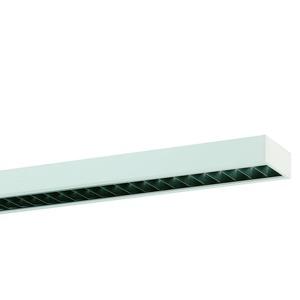 ABRB-R1X145/35DA-SM-SET, Anbauleuchte weiß, IP 20, inkl. 1x RIDI-TUBE 1450mm