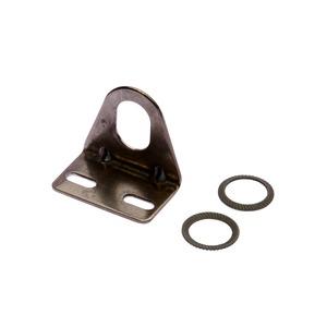 Zubehör Sensor, Befestigungswinkel, 32x23x36mm, Verzahte Unterlegscheibe für Sensor, Winkel, ro...