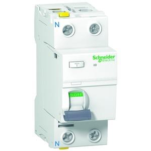 Fehlerstrom-Schutzschalter iID, 2P, 63A , 100mA, Typ A, SI