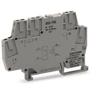 Optokopplermodul DC 24 V / 5 A grau
