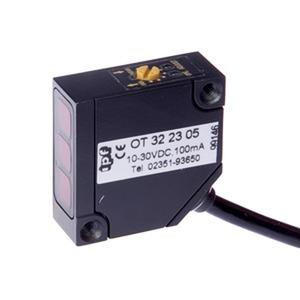 Sensor Optisch, Taster, 32x32x13mm, Sn: 40-200, 10-30V DC, 1x PNP programmierbar/konfigurierbar...