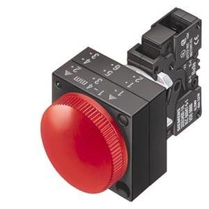 3SB3252-6AA20-0CC0, Leuchtmelder, 22mm, rund Kunststoff, rot
