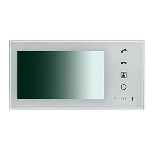 VT1007M2W, Monitor für Videotürsprechanlage weiß, Video-Türsprechanlage VT100