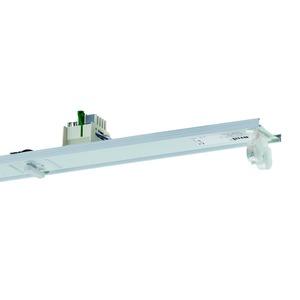 VLG-T16 235/49/80-11 Z, Geräteträger weiß, IP20, 11-polig, 2xT16 35, 49, 80W, Multiwatt EVG, zentrale Ersatzstromversorgung, L=1486mm. Beim variablen Platzieren der Geräteträ