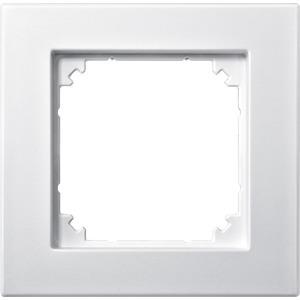M-PLAN II-Rahmen, 1fach, bündiger Einbau, polarweiß