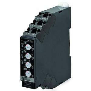 K8DT-AW1TD, Überwachungsrelais, 17.5mm, Einphasen-Über-& Unterstrom-Überwachung, 2 bis 500 mA AC/DC, 1x Transistor, 24V AC/DC