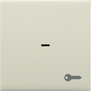 Kontrollwippe m. Tür-Symbol, creme