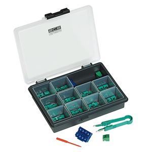 Konfigurator-Box in Kleinteilebox, beinhaltet je 10 Stück Konfiguratoren 0-9, Konfigurations-Pinzette
