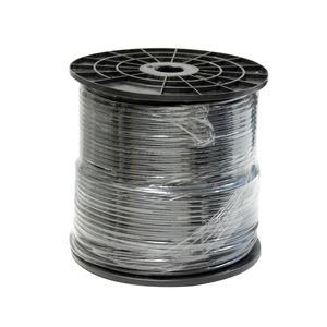 HD-SDI Koaxialkabel, schwarz, 250 m Spule