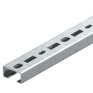 CML3518P2000FS, Profilschiene gelocht, Schlitzweite 17mm 2000x35x18, St, FS