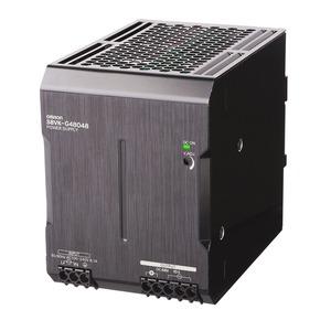 S8VK-G48048, Schaltnetzteil - PRO Linie, 480 W, 100 bis 240 VAC Eingang, 48 VDC 10A Ausgang, Power Boost,  DIN-Schienenmontage